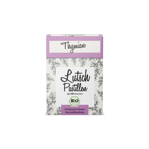 Display Thymian Lutschpastillen  30g